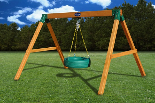 Gorilla Free Standing Tire Swing Assembly - The Assembly Pros LLC