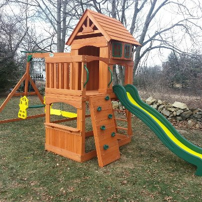 Backyard Discovery Atlantis Swingset Installation Downingtown Pa