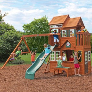 Costco Mount Forest Lodge Playset Installation And